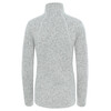 The North Face Crescent sweater Dames grijs/wit
